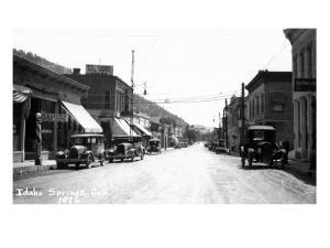 Idaho Springs, Colorado - Street Scene by Lantern Press