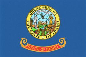 Idaho State Flag by Lantern Press
