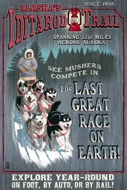 Iditarod Trail - Alaska by Lantern Press