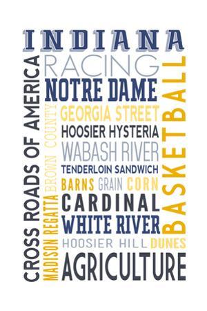 Indiana - Typography