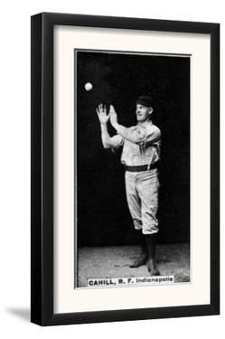 Indianapolis, IN, Indianapolis Hoosiers, John Cahill, Baseball Card by Lantern Press