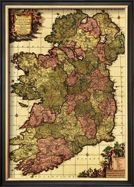 Ireland - Panoramic Map by Lantern Press