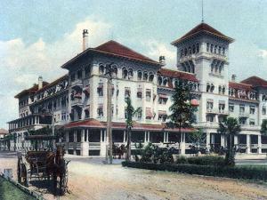 Jacksonville, Florida - Windsor Hotel Exterior View by Lantern Press