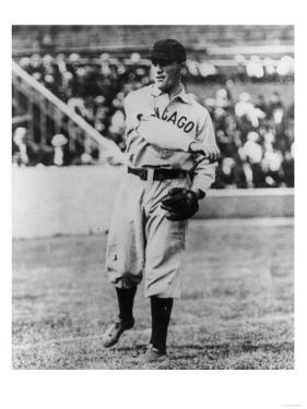 Joe Tinker, Chicago Cubs, Baseball Photo - Chicago, IL by Lantern Press