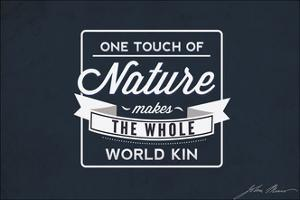 John Muir - One Touch of Nature by Lantern Press