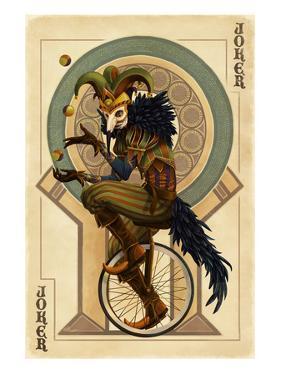 Joker - Playing Card by Lantern Press