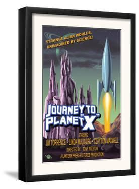 Journey to Planet X by Lantern Press