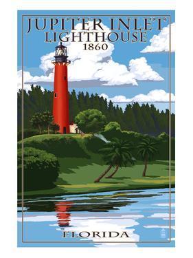 Jupiter Inlet Lighthouse - Jupiter, Florida by Lantern Press