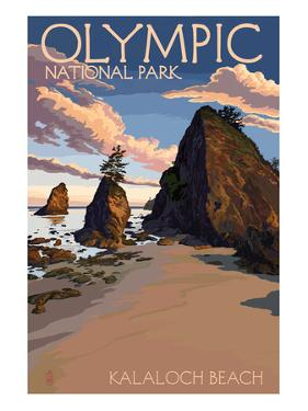 Kalaloch Beach - Olympic National Park, Washington by Lantern Press