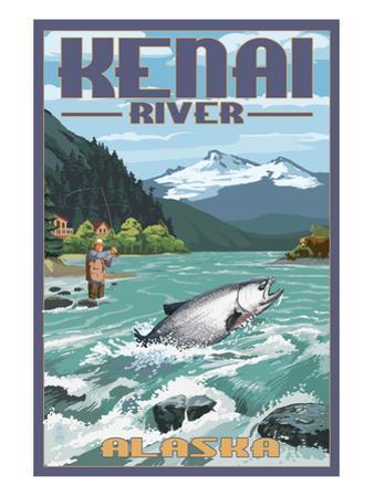 Kenai River, Alaska - Salmon Fisherman