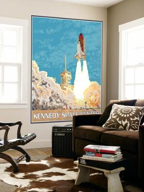 Kennedy Space Center, Cape Canaveral, Florida by Lantern Press