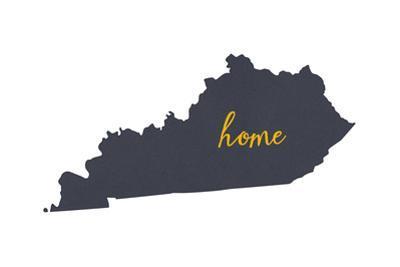 Kentucky - Home State - White