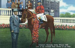 Kentucky - Kentucky Derby Winner Citation in 1948 by Lantern Press