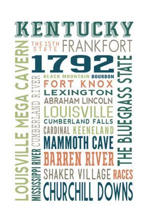 Kentucky - Typography