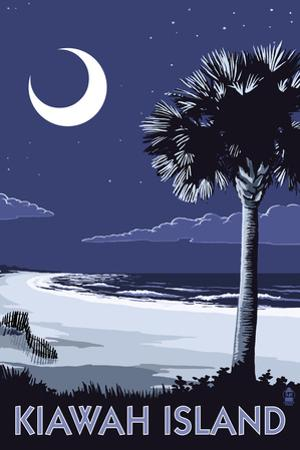 Kiawah Island, South Carolina - Palmetto Moon