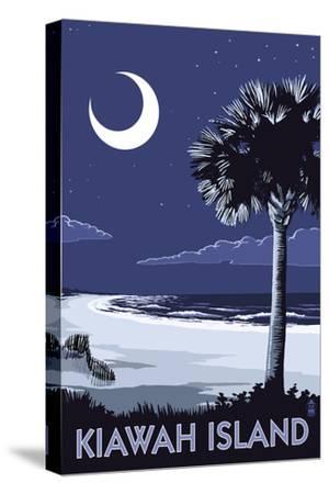 Kiawah Island, South Carolina - Palmetto Moon by Lantern Press