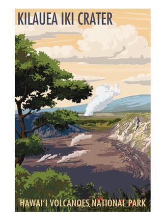 Kilauea Iki Crater, Hawaii Volcanoes National Park by Lantern Press