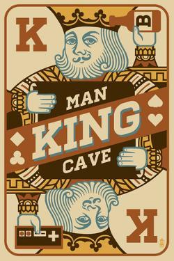 King Card by Lantern Press