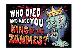 King of the Zombies by Lantern Press