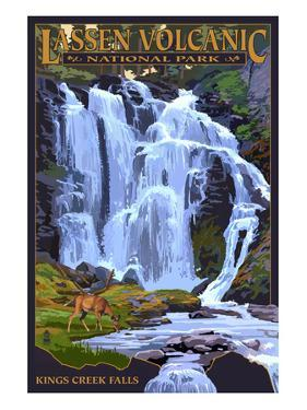 Kings Creek Falls - Lassen Volcanic National Park, CA by Lantern Press