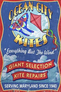 Kite Shop - Ocean City, Maryland by Lantern Press