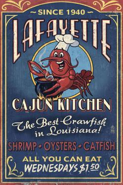 Lafayette, Louisiana - Cajun Kitchen by Lantern Press