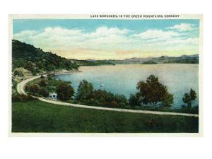 Lake Bomoseen, Vermont, Scenic View of the Lake by Lantern Press