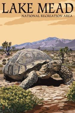 Lake Mead - National Recreation Area - Tortoise by Lantern Press