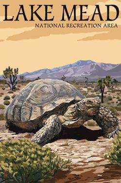 Lake Mead - National Recreation Area - Tortoise by Lantern Press