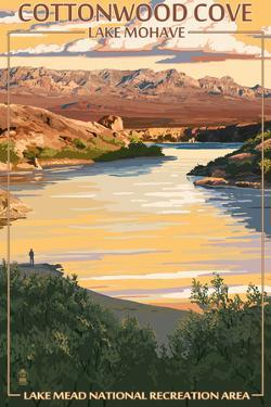Lake Mohave, Nevada - Lake Mead National Recreation Area - Cottonwood Cove by Lantern Press