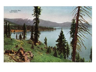 Lake Tahoe, California - Carnelian Bay Scene
