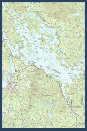 Maps of New Hampshire Posters for sale at AllPosterscom