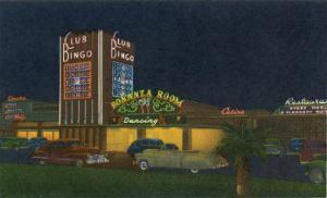 Las Vegas, Nevada, Exterior View of Club Bingo by Lantern Press