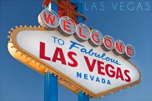Las Vegas, Nevada - Welcome Sign by Lantern Press
