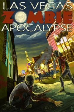 Las Vegas, Nevada - Zombie Apocolypse by Lantern Press