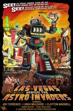 Las Vegas vs. The Astro-Invaders by Lantern Press