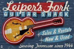 Leiper's Fork, Tennessee - Guitar Shack by Lantern Press