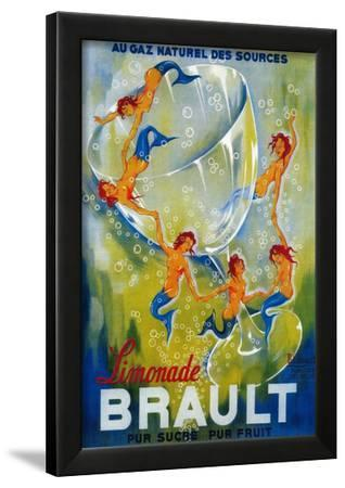 Limonade Brault Vintage Poster - Europe by Lantern Press