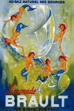 Limonade Brault Vintage Poster - Europe by Lantern Press