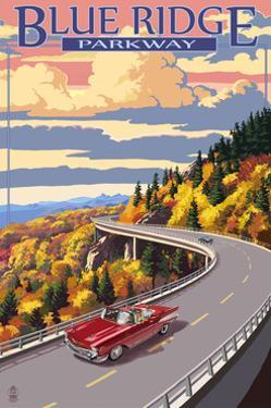 Linn Cove Viaduct - Blue Ridge Parkway by Lantern Press