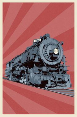 Locomotive by Lantern Press