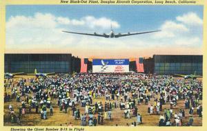 Long Beach, California - Douglas Aircraft Corp. New Black-Out Plant by Lantern Press