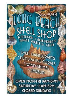 Long Beach, California - Shell Shop by Lantern Press
