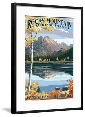 Long's Peak and Bear Lake - Rocky Mountain National Park by Lantern Press