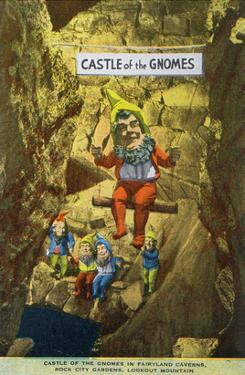 Lookout Mountain, Tennessee - Fairyland Caverns, Interior View of the Castle of Gnomes by Lantern Press