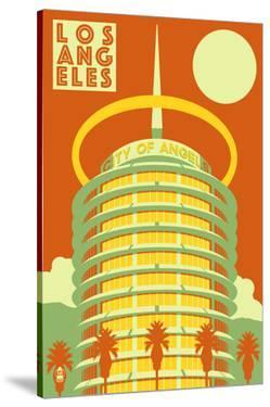 Los Angeles, California - City of Angels by Lantern Press