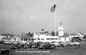 Los Angeles, California - Famous Farmers Market by Lantern Press