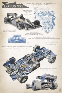 Lotus 95T Technical by Lantern Press