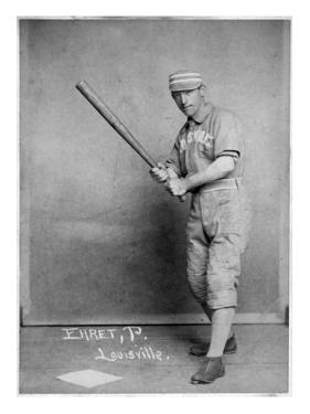 Louisville, KY, Louisville Colonels, Red Ehret, Baseball Card by Lantern Press