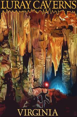 Luray Caverns, Virginia - Discovery by Lantern Press